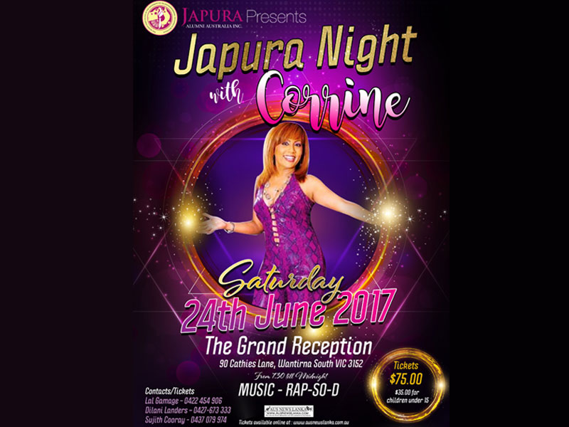 Japura Night with Corrine - 2017